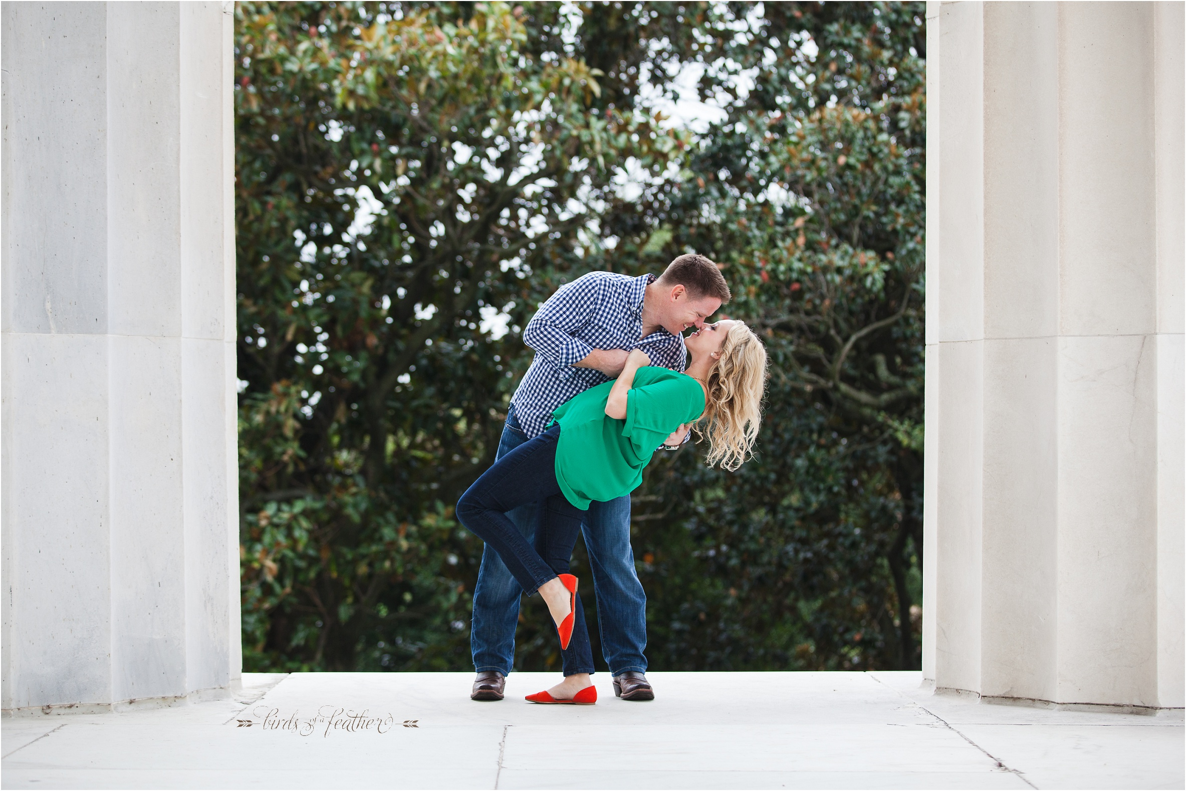 D.C. Engagement Session - Birds of a Feather Photography