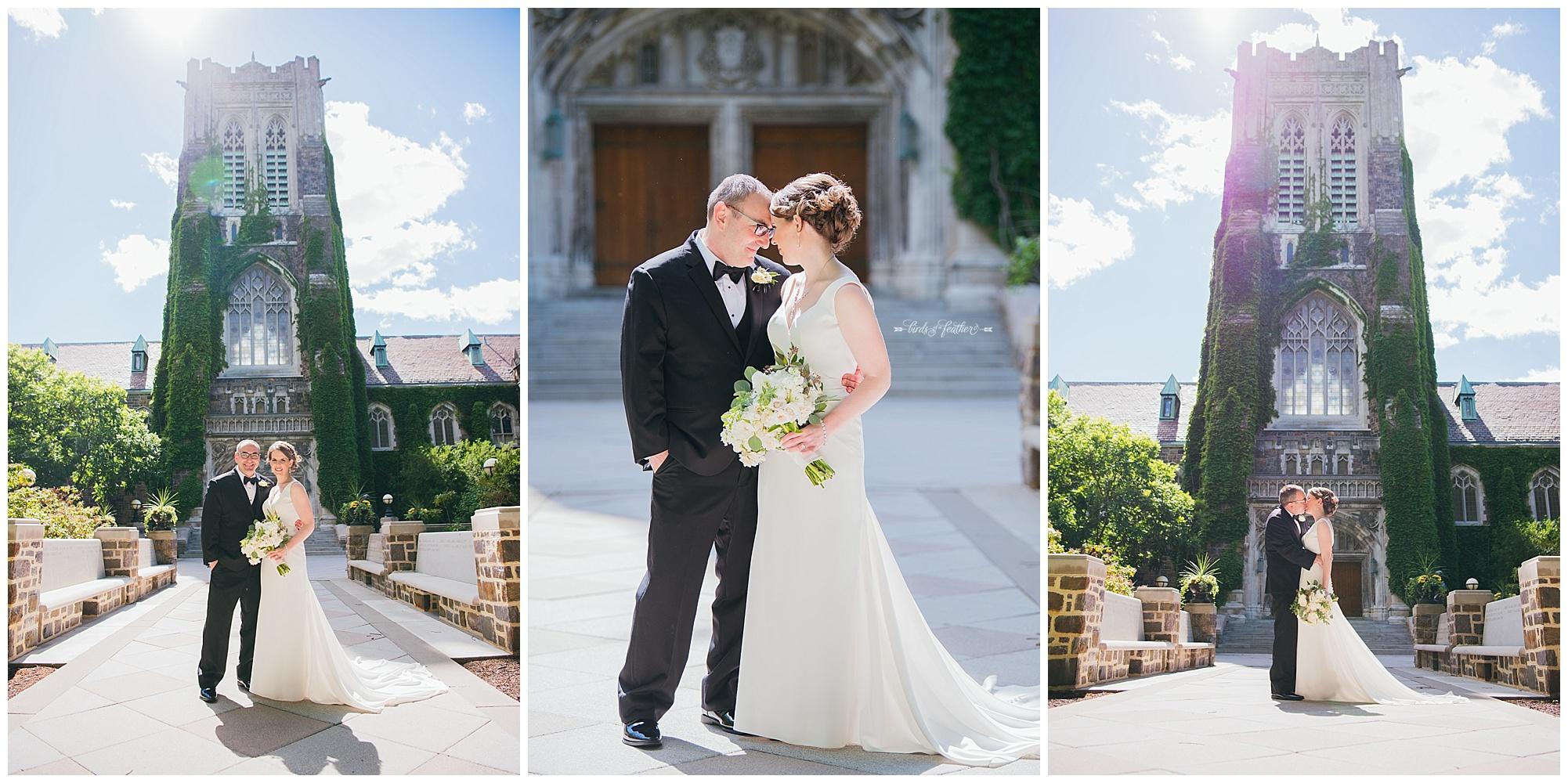 Cassie & Michael | Lehigh University Wedding, Bethlehem PA | Birds of a Feather Photography