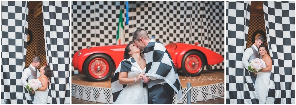 Lauren & Steve | Simeone Foundation Auto Museum Wedding, Philadelphia PA | Birds of a Feather Photography