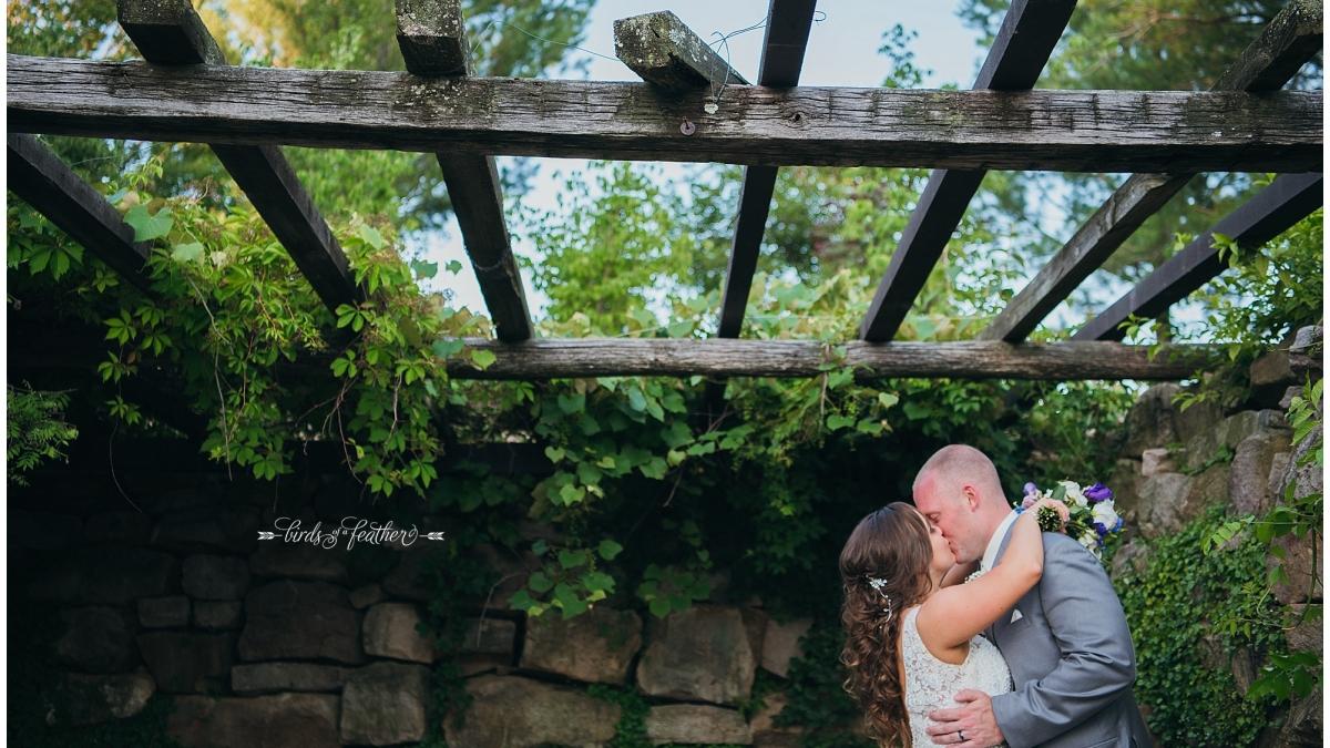 Alyssa & Blake | Glasbern Inn Wedding, Fogelsville PA | Birds of a Feather Photography