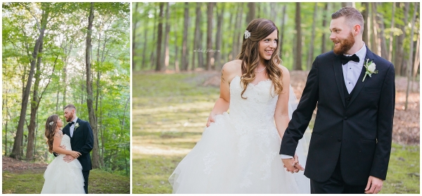 Kimberly & Justin | Stroudsmoor Country Inn Wedding, Stroudsburg PA | Birds of a Feather Photography