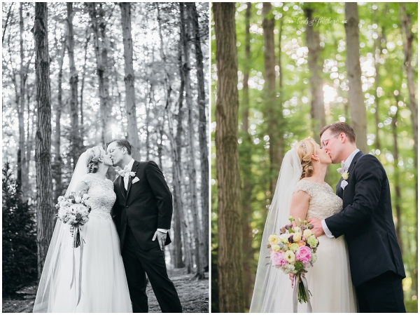 Emily & Brian | Stroudsmoor Country Inn Wedding, Stroudsburg PA | Birds of a Feather Photography
