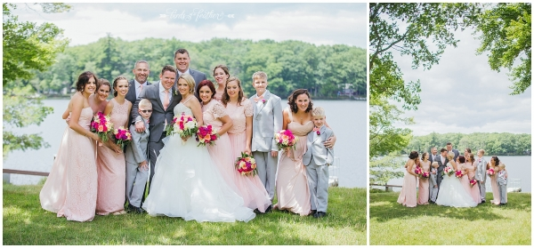 Lauren & Jamie | Woodloch Resort Wedding, Hawley PA | Birds of a Feather Photography