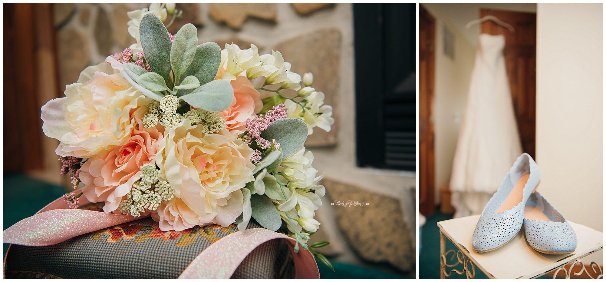 Birds of a Feather Photography Bally Spring Inn Wedding Photographer 01