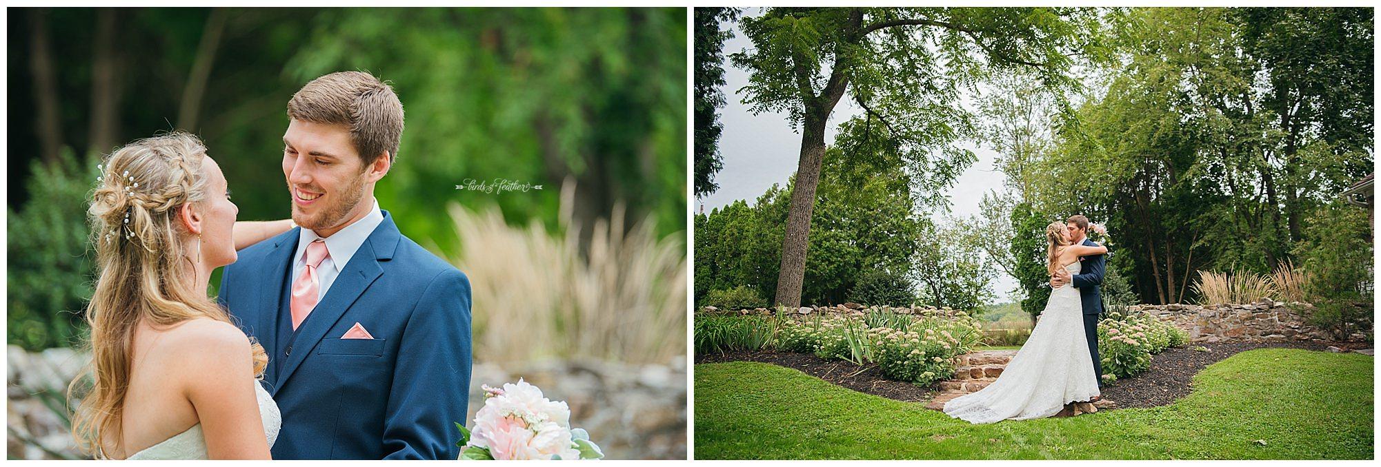 Birds of a Feather Photography Bally Spring Inn Wedding Photographer 07