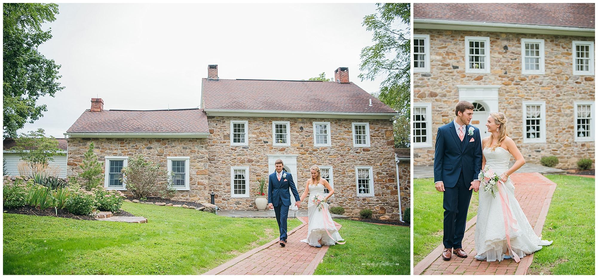 Birds of a Feather Photography Bally Spring Inn Wedding Photographer 08