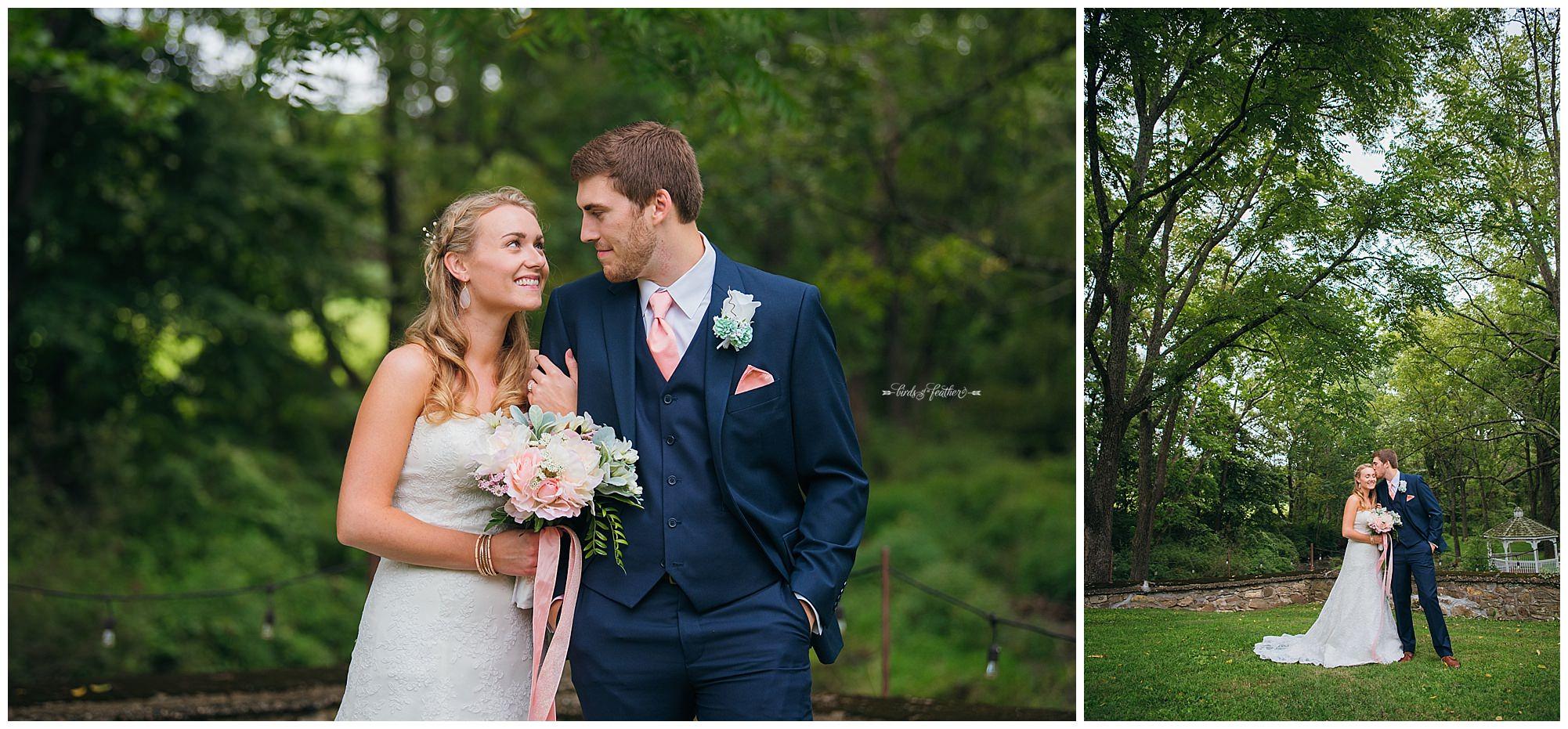 Birds of a Feather Photography Bally Spring Inn Wedding Photographer 10