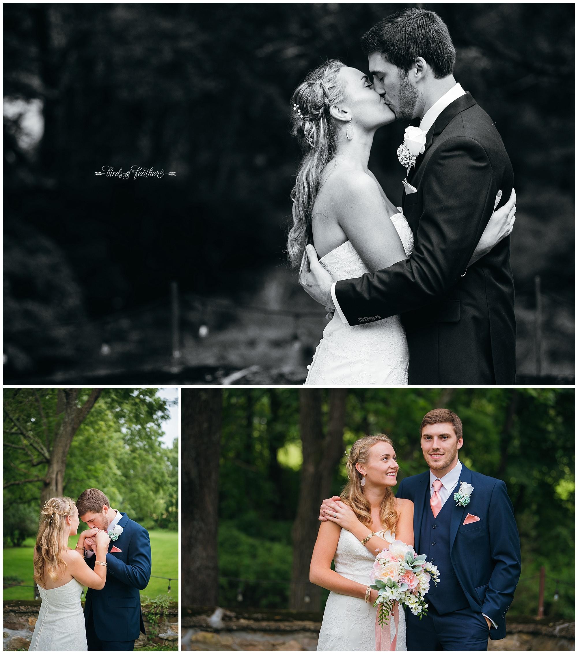 Birds of a Feather Photography Bally Spring Inn Wedding Photographer 11