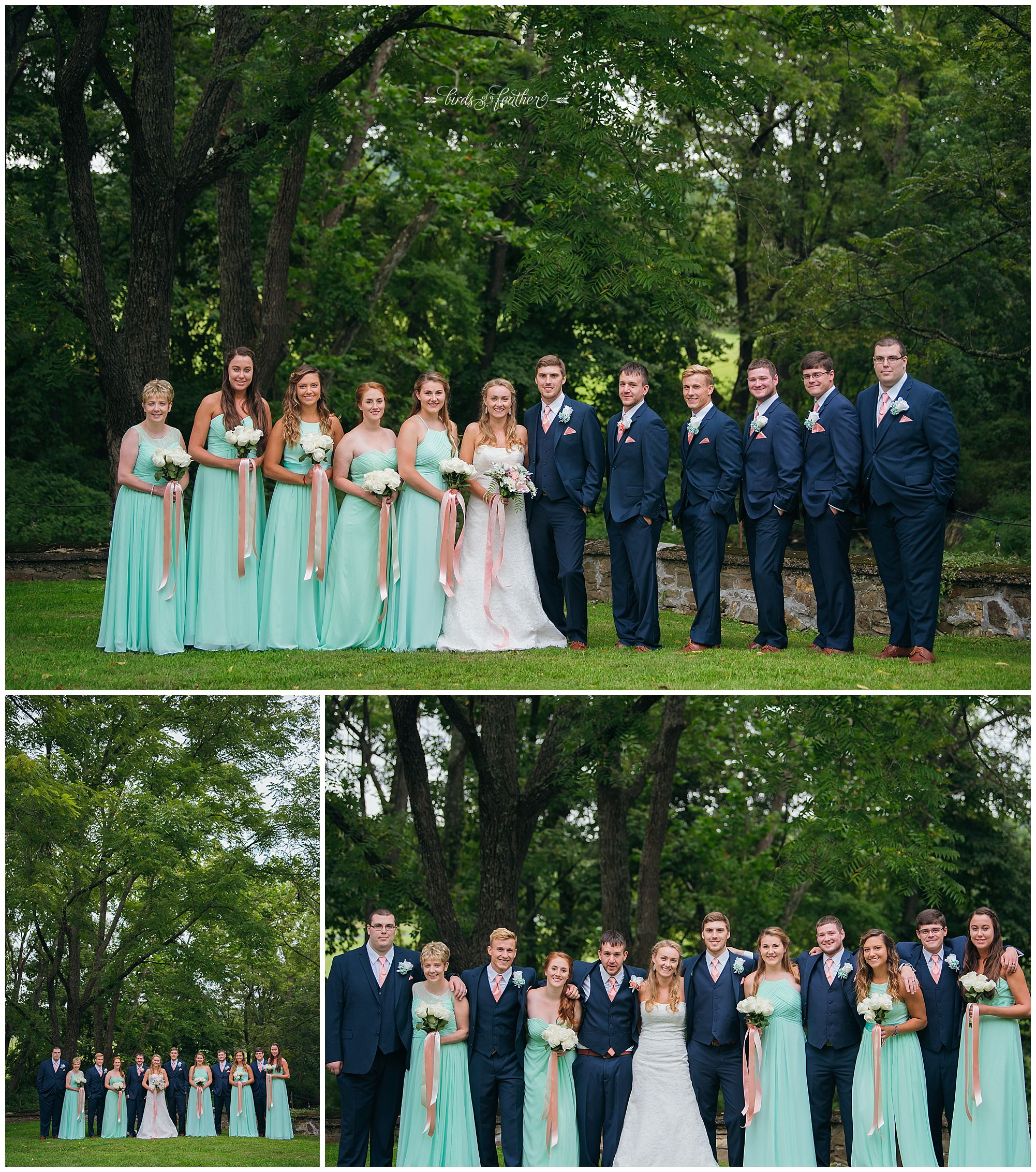 Birds of a Feather Photography Bally Spring Inn Wedding Photographer 12