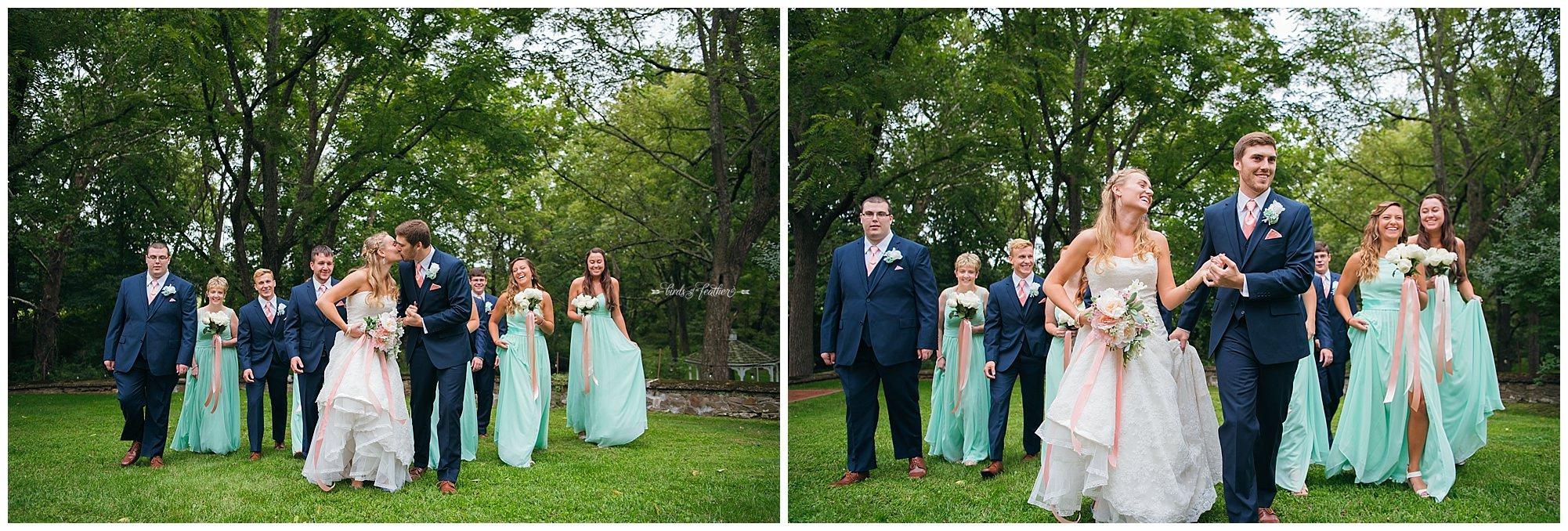 Birds of a Feather Photography Bally Spring Inn Wedding Photographer 13