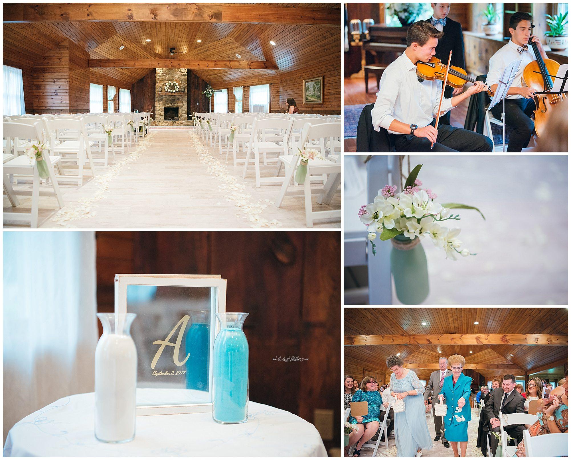 Birds of a Feather Photography Bally Spring Inn Wedding Photographer 14