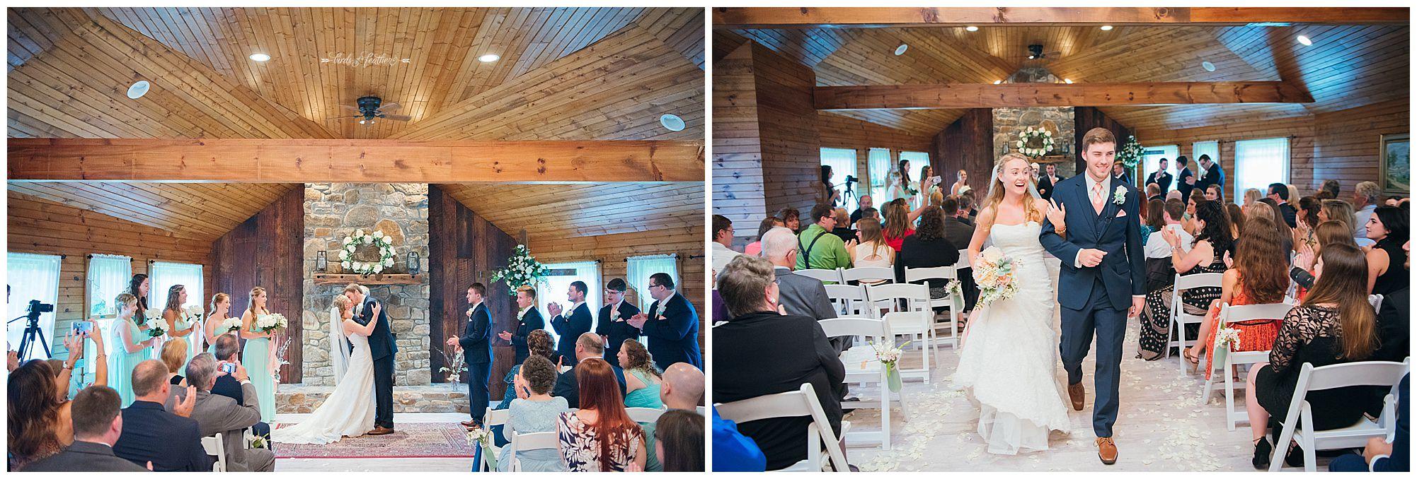 Birds of a Feather Photography Bally Spring Inn Wedding Photographer 17