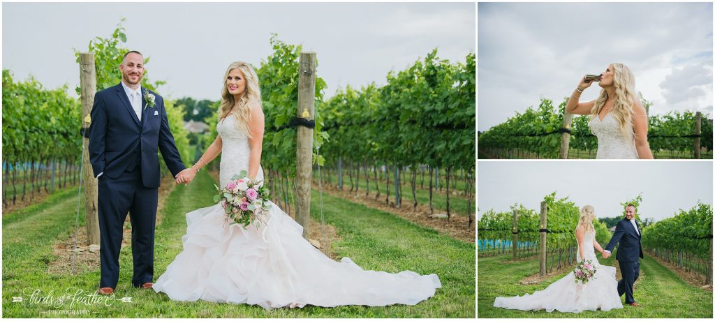 Birds of a Feather Photography Folino Estate Winery Easton Pa Wedding Photographer 014