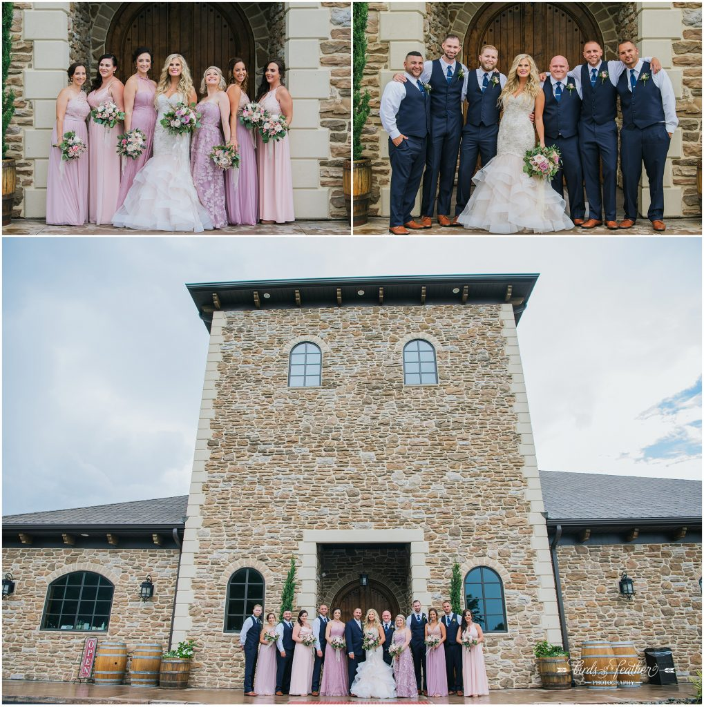Birds of a Feather Photography Folino Estate Winery Easton Pa Wedding Photographer 018