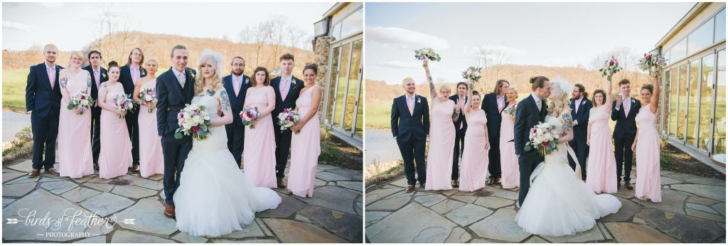 Birds of a Feather Photography Riverview Country Club Easton Pa Wedding Photographer 15