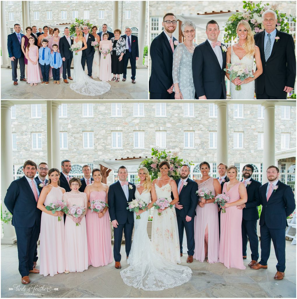 Birds of a Feather Photography Skytop Lodge Poconos Pa Wedding Photographer 019